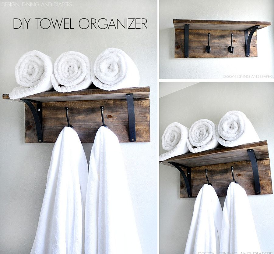10 diy towel holders for a budget