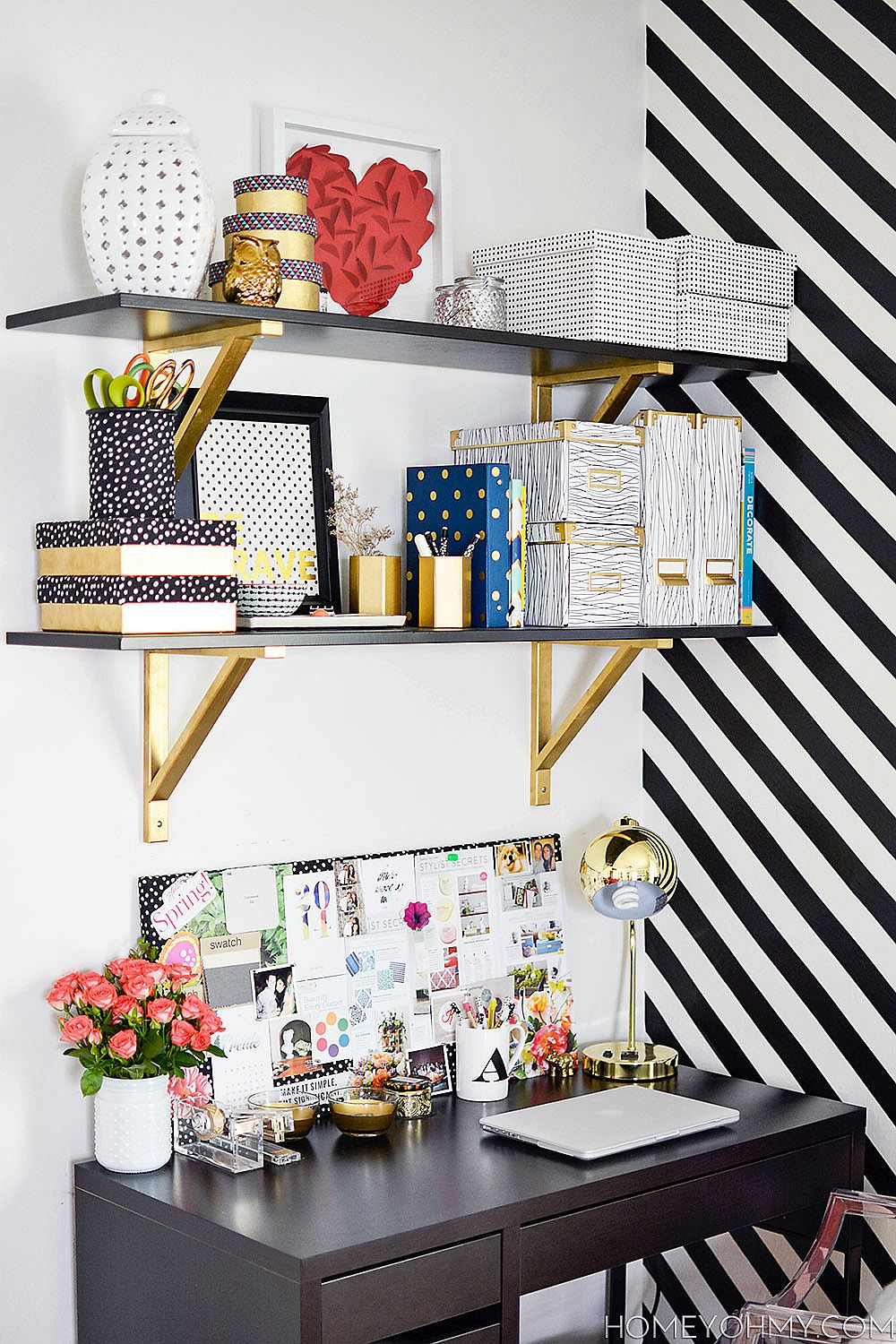 15 Diy Home Office Organization And Storage Ideas That