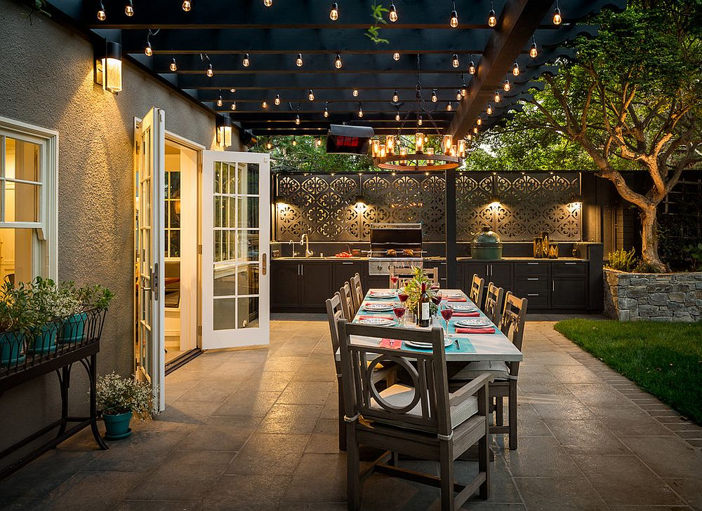 Pick Your Shade Trendy Covered Patios And Decks That Take