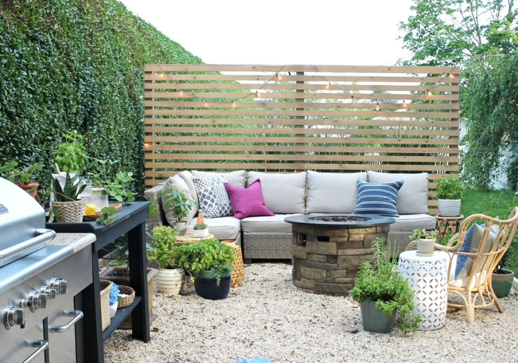 budget friendly privacy screen ideas