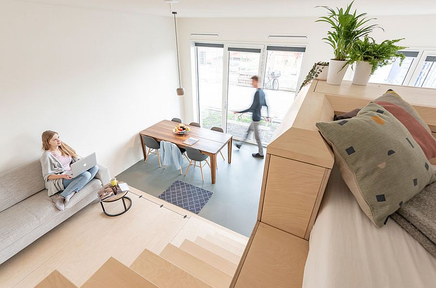 45 sqm apartment in amsterdam with