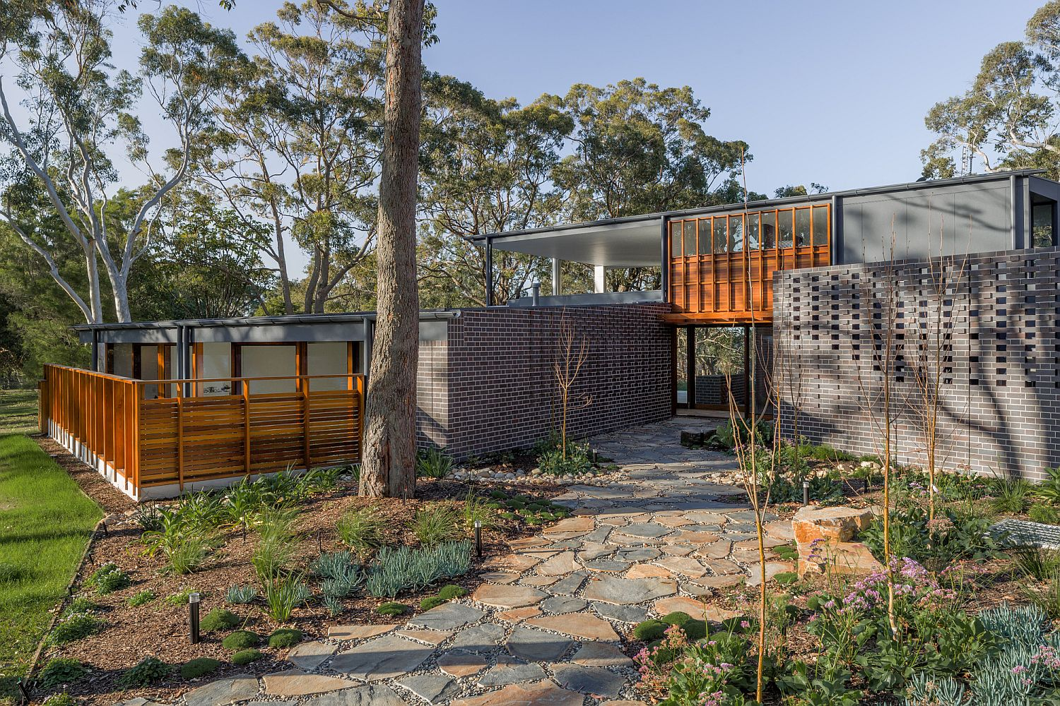 Brass House In Newcastle Bridging The Urban Rural Divide