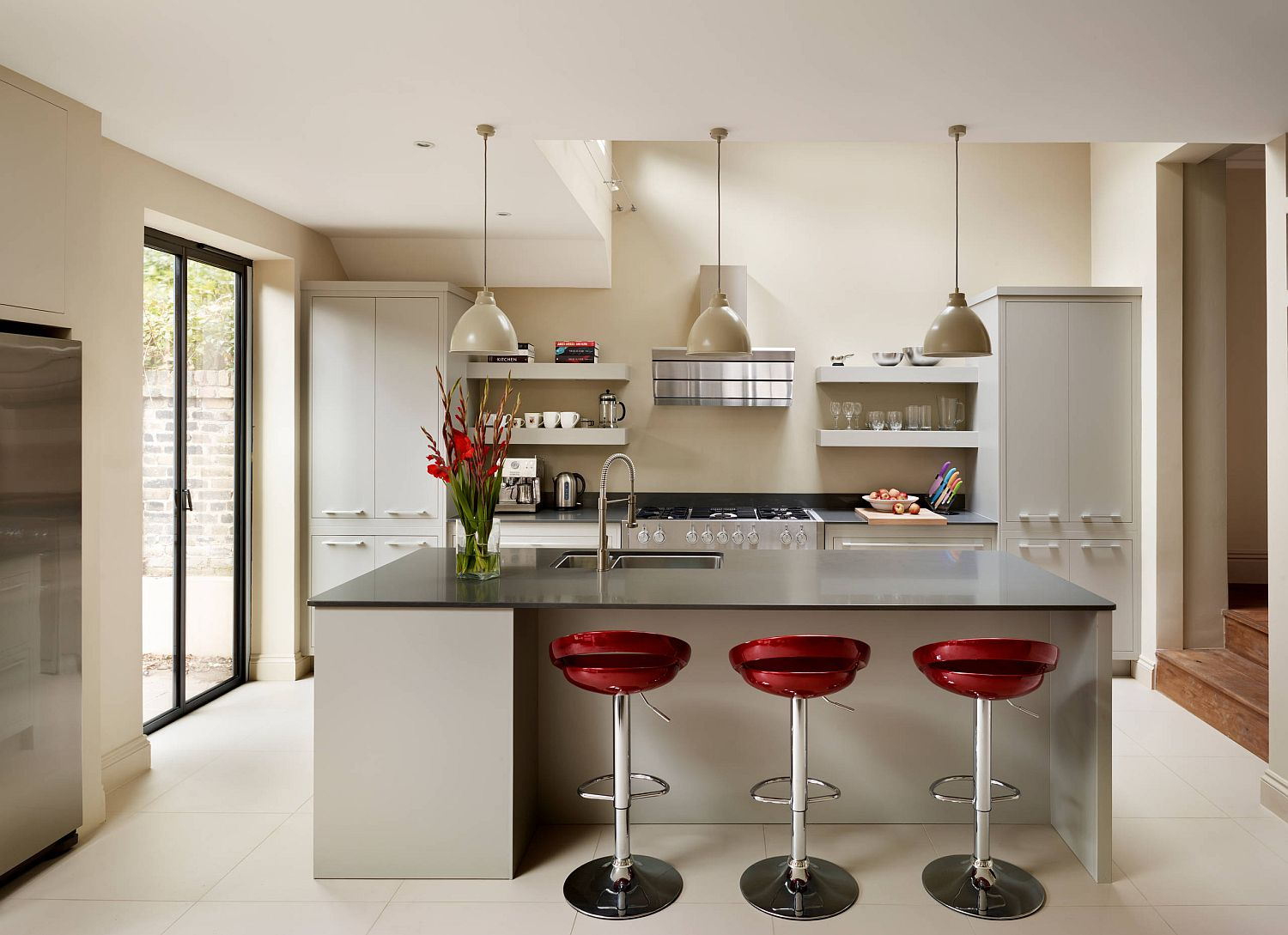Feisty And Trendy Awesome Red Bar Stools And Chairs That Steal The Show