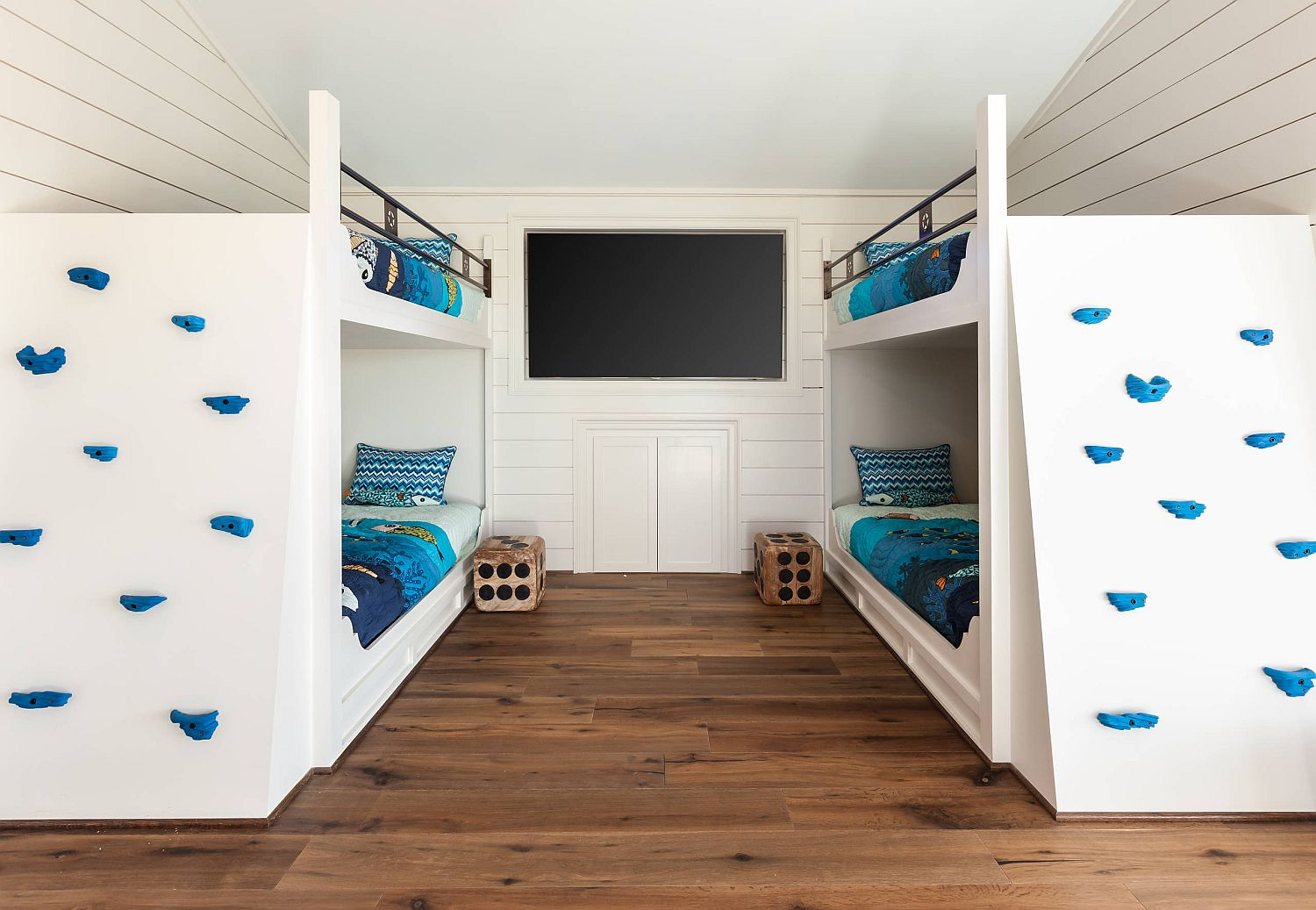 Creative Climbing Walls For The Kids Rooms A More Active