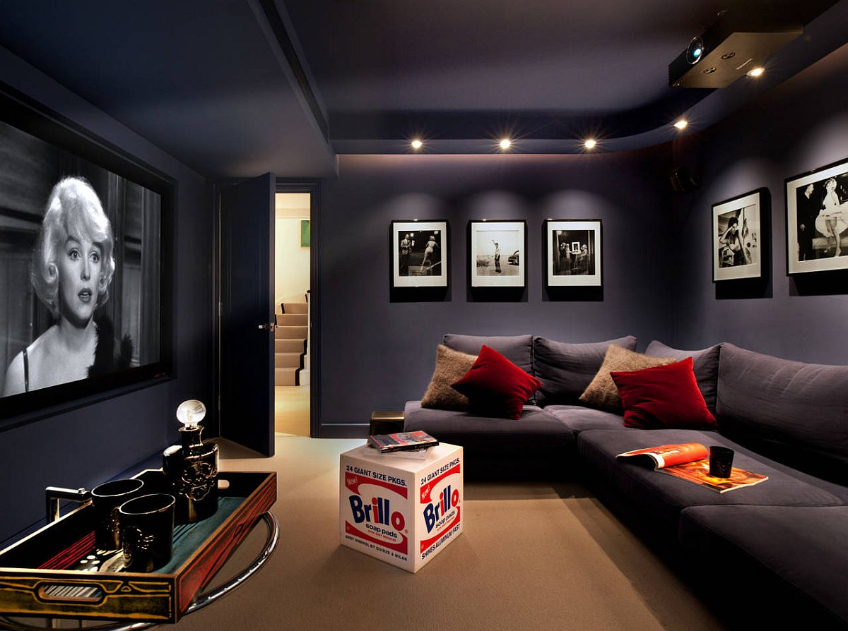 lovely small home theaters and media rooms