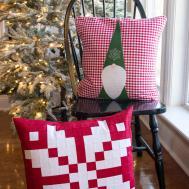 100 Decorative Christmas Pillows Imparting Grace