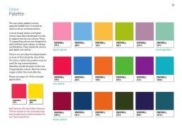 100 Palette Pantone Color Institute