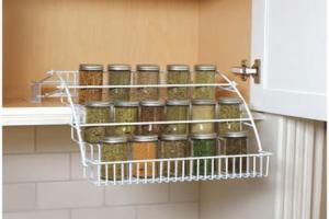 100 Spice Organizers Kitchen Cabinets
