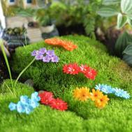 10pcs Miniature Flower Moss Bonsai Diy Crafts Fairy Garden
