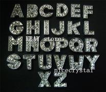 1300pcs Diy Slide Letters Rhinestone Alphabet