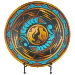 16in Terra Cotta Plate Stand