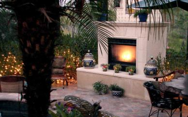 2017 Outdoor Fireplace Cost Build