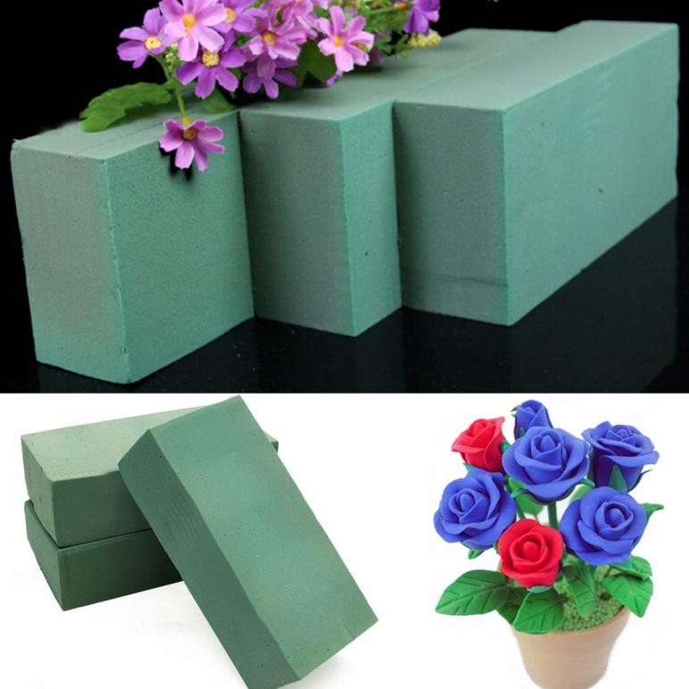 20x Floral Foam Bricks Blocks Silk Dried Oasis Florist