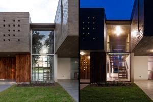 289 Sqm Modern Concrete House Design Unique Structure