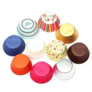 50pcs Paper Cake Cup Cupcake Cases Liners Muffin Kitchen