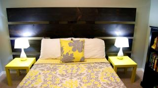 Accessories Glamorous Yellow Gray Bedroom
