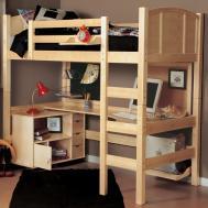 Advantages Twin Loft Bed Desk Storage