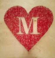 Adventures Mrs Mayfield Diy String Art Heart Tutorial