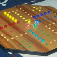 Aggravation Game Player Marbles Play Wooddesigner