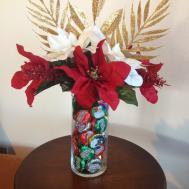 Aim Create Diy Christmas Candy Floral Arrangement