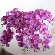 Aliexpress Buy Fashion Orchid Artificial Flowers Diy