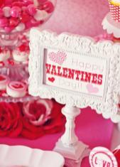 Amanda Parties Valentines Party Table Ideas