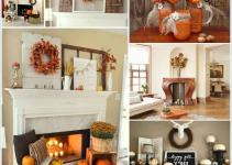 Amazing Fall Mantle Decor Ideas Your Home