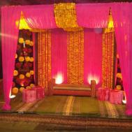 Amazing Mehndi Stage Decoration