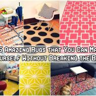 Amazing Rugs Can Make Yourself Diy Craft