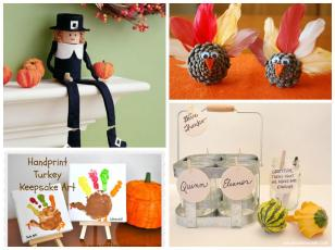 Amazing Thanksgiving Diy Kid Projects Candystore