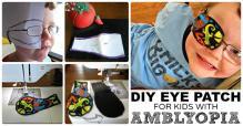 Amblyopia Make Eye Patches Kids