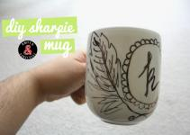 Amped Dangerous Diy December Sharpie Mug