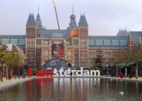 Amsterdam Playing Tourist Dutch Capital