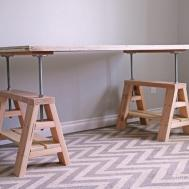 Ana White Adjustable Height Wood Metal Stool Diy