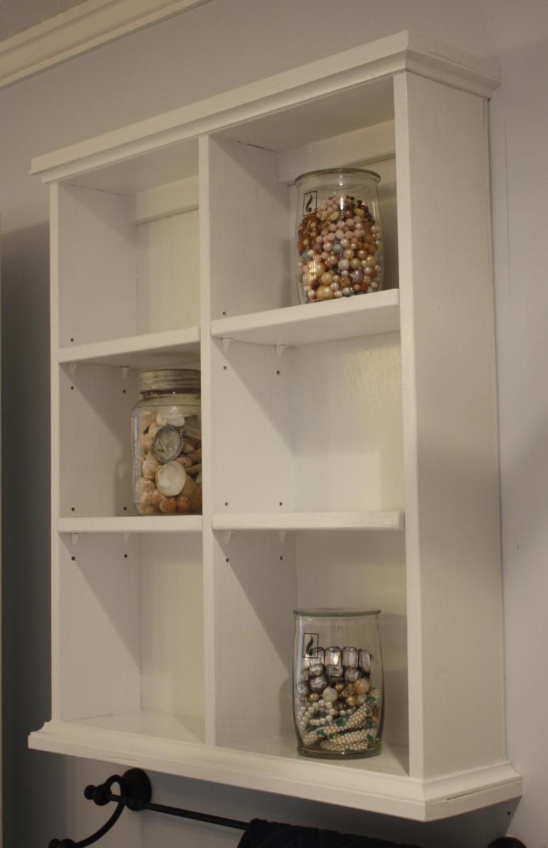 Ana White Bathroom Wall Storage Diy Projects