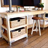 Ana White Diy Desk Workbench Projects