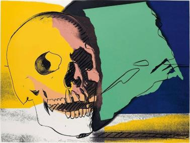 Andy Warhol Skull 158 Sale 1stdibs