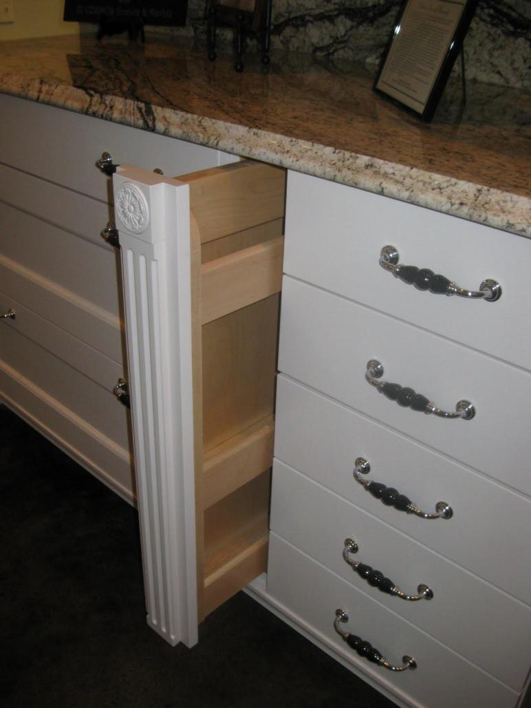 Angela Pence Interior Design Cabinet Hidden