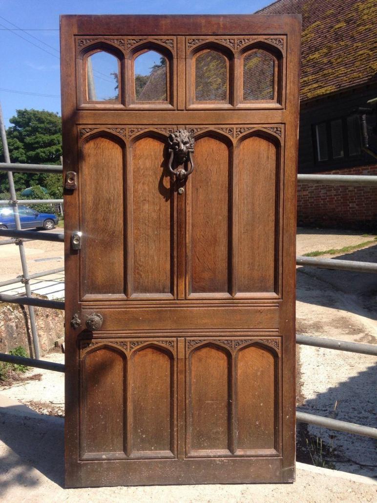Antique Exterior Doors Luxury Huge Solid Oak Front Door