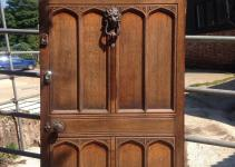 Antique Exterior Doors Luxury Huge Solid Oak Front Door