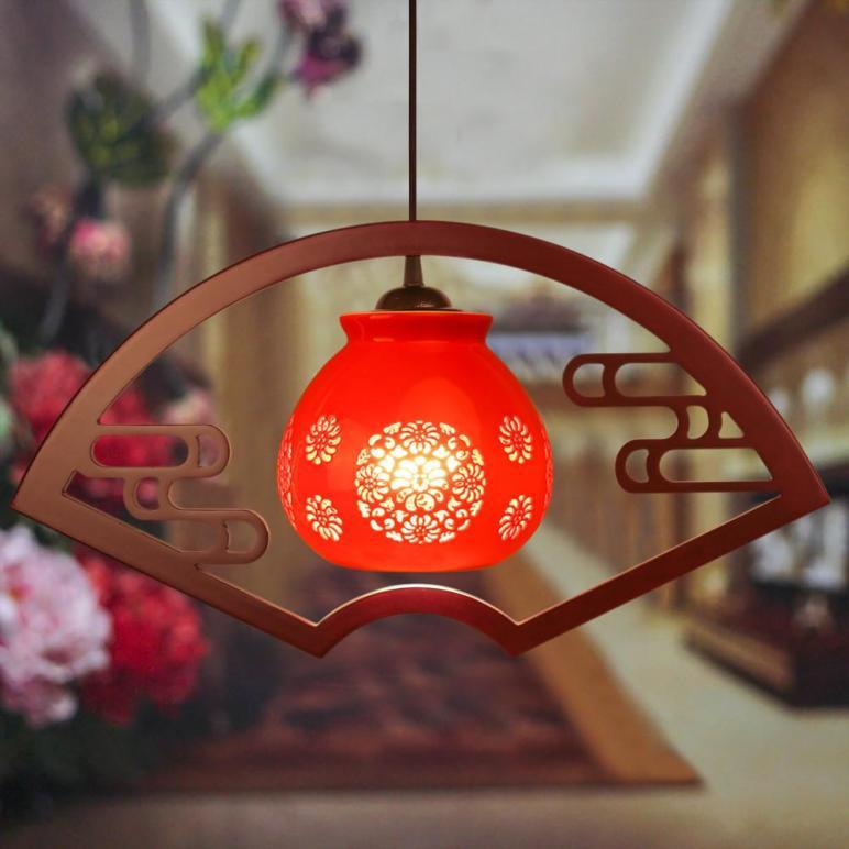 Antique Retro Ceramic Lamp Vintage Loft E27