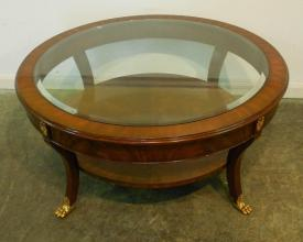 Antique Round Coffee Table Collections