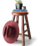 Antique Round Stool Midwest Home Magazine