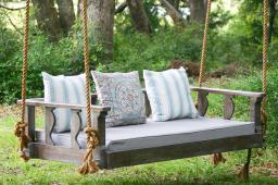 Antique Wicker Porch Swings