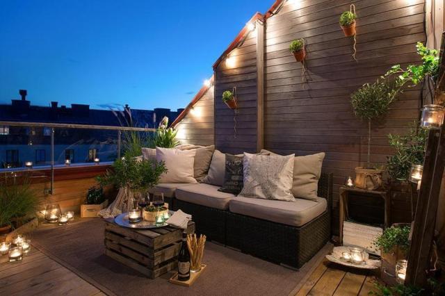 Apartment Balcony Lighting Ideas Home Design Patio Plus Decoratorist 75340