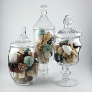 Apothecary Jar Piece Set Wedding Candy Buffet