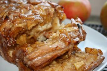 Apple Cinnamon Pull Apart Bread Javacupcake