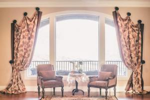 Arch Window Treatment Ideas Large Treatments