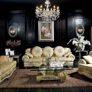 Ares Luxury Sofa Seater Armchair Side Tables