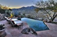 Arizona Desert Home Combines Waterscaping Xeriscaping
